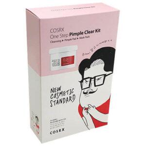 COSRX One Step Pimple Clear Kit 3-etapowa oczyszczająca kuracja do twarzy
