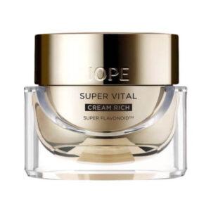IOPE Super Vital Cream Rich Przeciwstarzeniowy krem do twarzy
