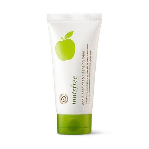 INNISFREE Apple Seed Deep Cleansing Foam Jabłkowa pianka do mycia twarzy
